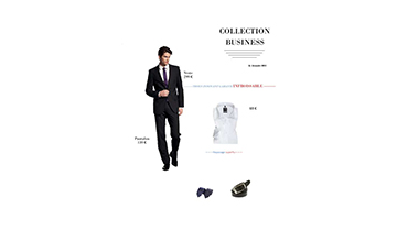 Le costume la veste ou le pantalon dans le collection business DIGEL